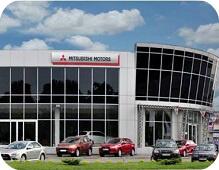 Mitsubishi автосалон