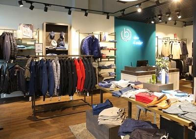 Магазин одежды Bugatti